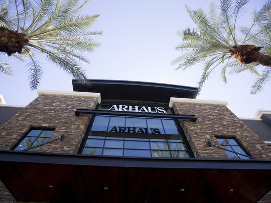 Arhaus is housed in the former Barnes & Noble spot
