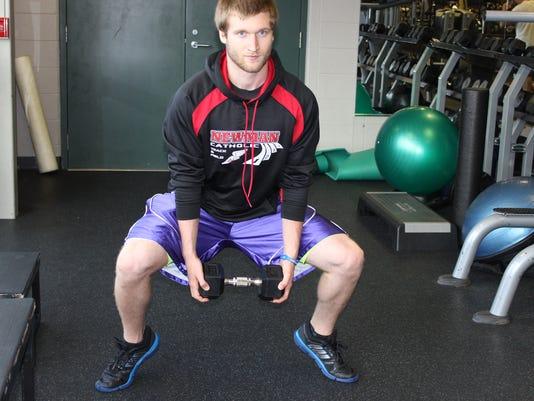calf squat