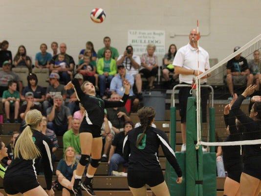 Virgin Valley volleyball