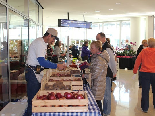The Winter Farmers' Market will be held at Kaleidoscope at the Hub and Capital Square November 20-21 (9 a.m.-1 p.m.) and December 18-19 (9 a.m.-1 p.m.).