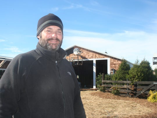 Craig Nargi of Hermitage Hill Farm and Stables.