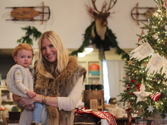 Holly Williams with her daughter, Stella June. Williams