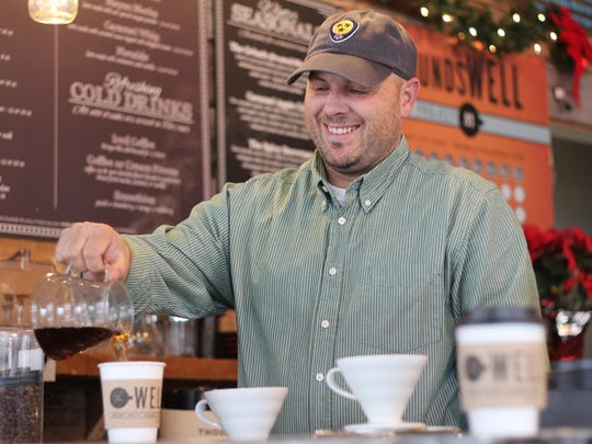 Chris Soper, cofounder of Brentwood's The Well Coffee