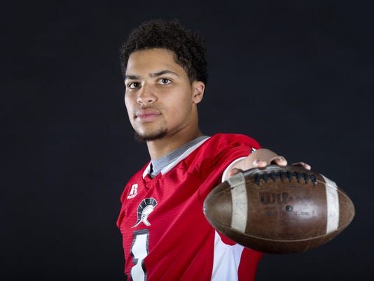 All-Arizona high school football photo shoot