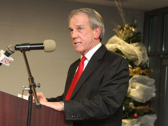Mike Evans, executive director of the Clarksville-Montgomery