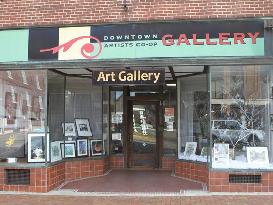 The Downtown Artists Co-op is the center of Clarksville's