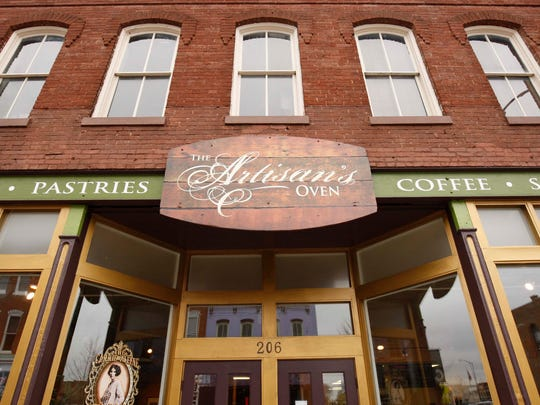 The Artisan's Oven is located on Commercial Street