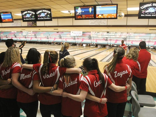 SECTION ONE GIRLS BOWLING
