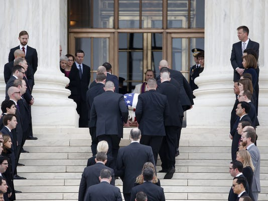 AP SUPREME COURT SCALIA A USA DC