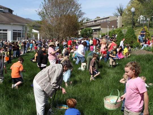 The Lake Junaluska Friends of the Lake 5K March 26 kicks off Easter Weekend festivities, including an egg hunt, at the lake.