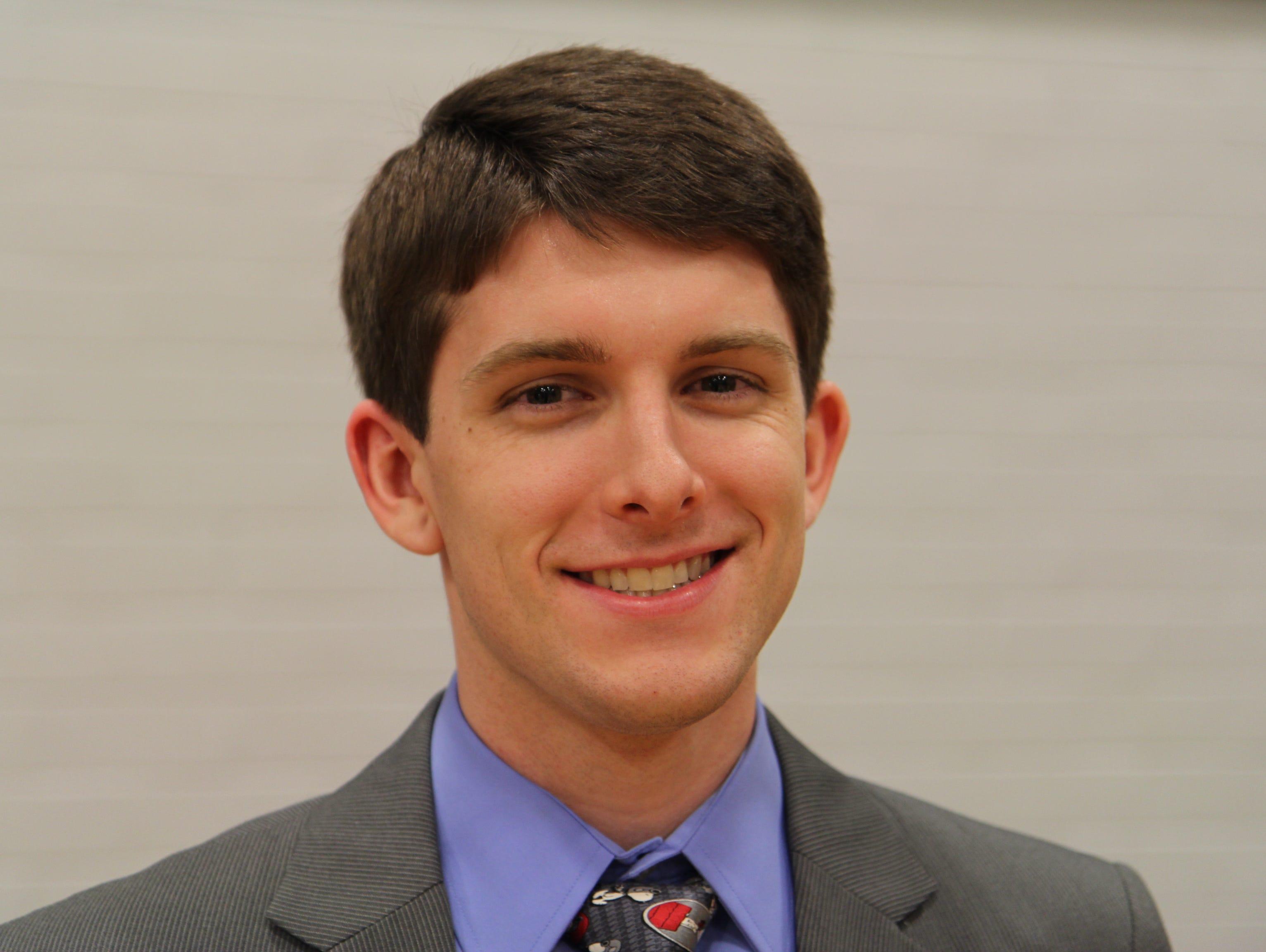 Ben Schonfarber is the new Loyola College Prep boys basketball coach.