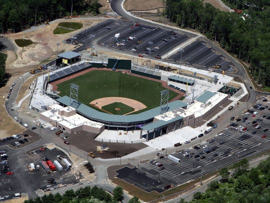 Provident Bank Park off Pomona Road in Ramapo, during