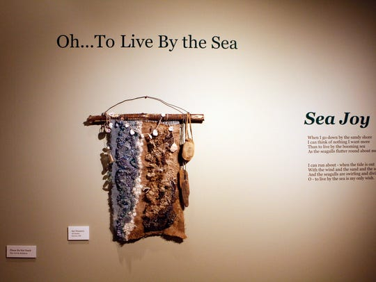"""""""Oh, To Live by the Sea,"""" is a traveling exhibit featuring"""