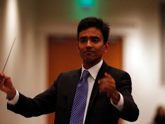 Nashville Symphony associate conductor Vinay Parameswaran