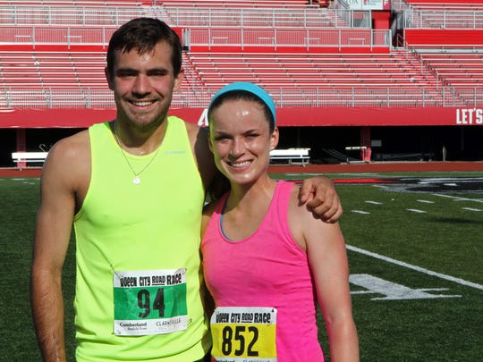 Kyle Harmon's 16:42 was the fastest overall 5K time