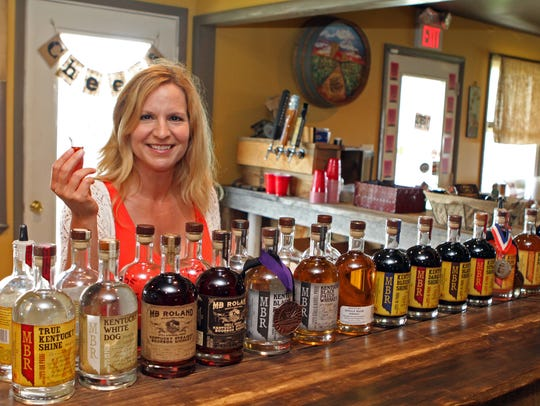 MB Roland Distillery is named for Merry Beth, whose