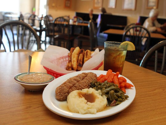 Moss's Southern Cooking is known for its Meat and Three,