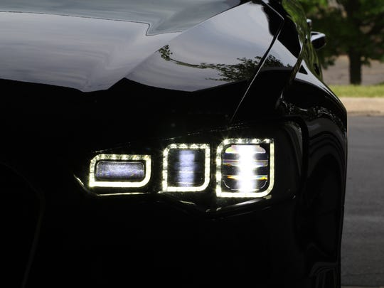 Varroc's Pixel Lamp uses multiple LEDs to produce more light and direct it away from the eyes of other drivers.