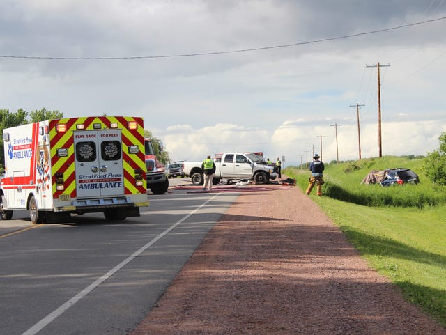 1 dead, 2 hospitalized in State 97 crash