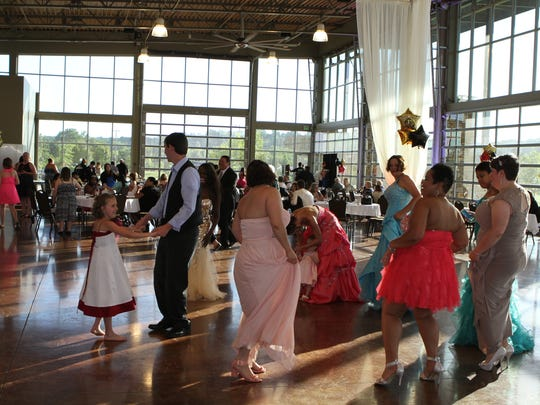 Those with special needs and their families were invited to attend Jayce's Prom for free. The event was organized by friends and family with support from the community. About 350 people attended.