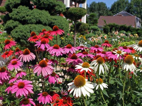 "Master gardener Margaret Pace said, ""The Tonner garden"