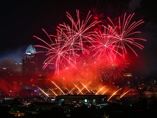 Fireworks, 2015