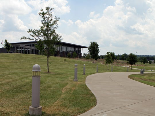 The Wilma Rudolph Event Center is near the top of former