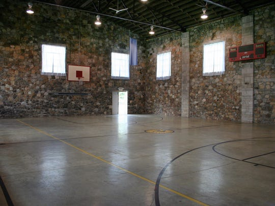FILE – The interior of Springville gym in 2009.