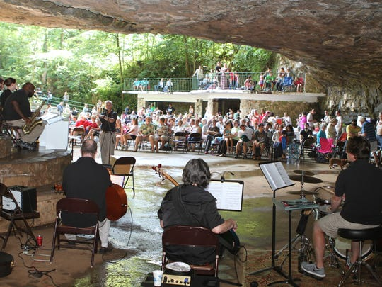 Friends of Dunbar Cave held their annual event Saturday, which each year brings back a piece of Clarksville's early 20th century nostalgia.