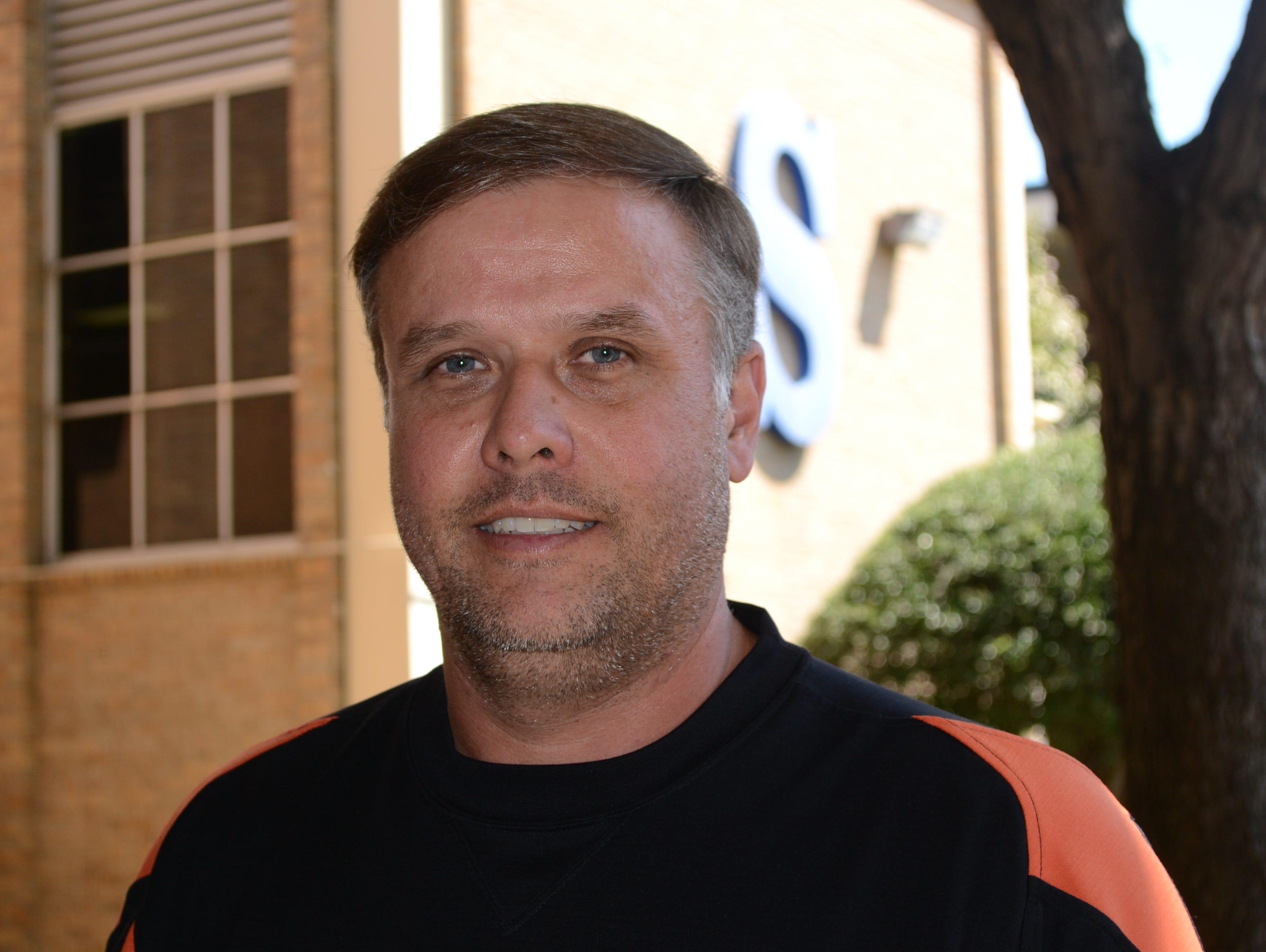 Aaron Vorachek is Southwood's new baseball coach.