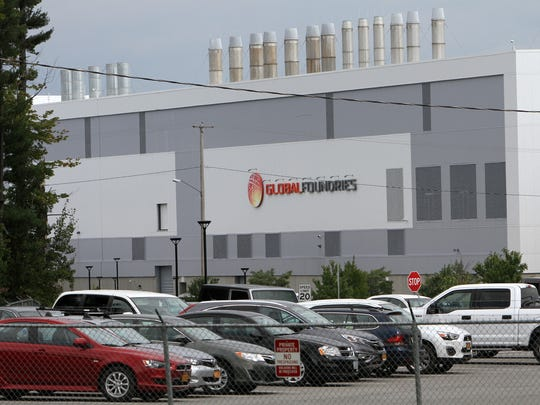 The Global Foundries plant  in Malta, N.Y., has the