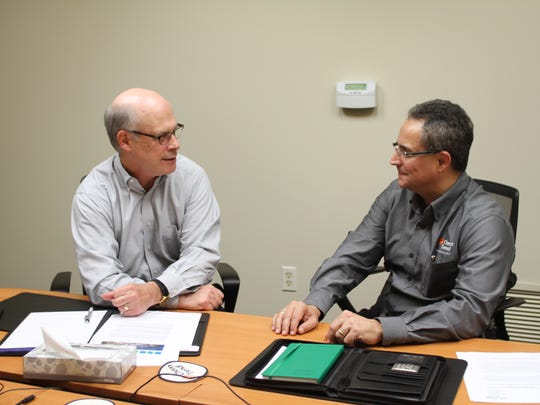 Jim Graff, left, and Miguel Psillakis are helping lead the expansion.