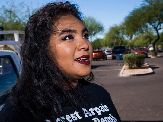 This presidential election in the first in which 18-year-old Elisa Avalos can vote. She said she's not a 'big fan of either of the candidates.' But, she said Donald Trump is not an option for her.