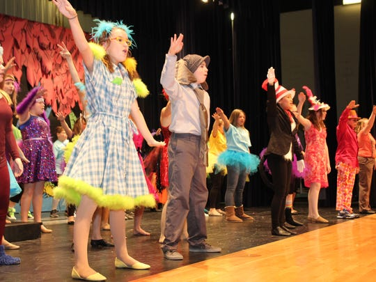 """""""Seussical Jr."""" features some of the best-known characters from the mind of Dr. Seuss, including The Cat in the Hat and Horton the Elephant."""
