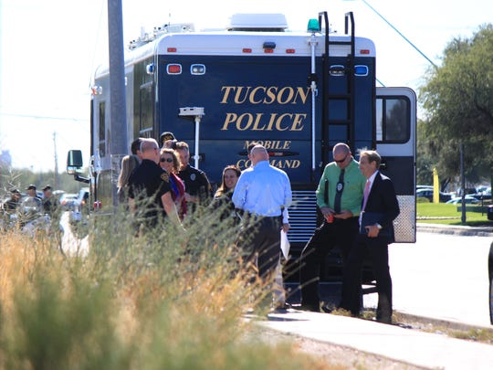 Two Tucson officers were shot Dec. 1, 2016, while executing