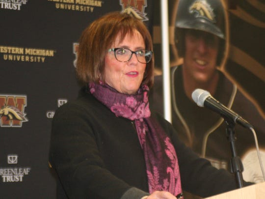 WMU Athletic Director Kathy Beauregard