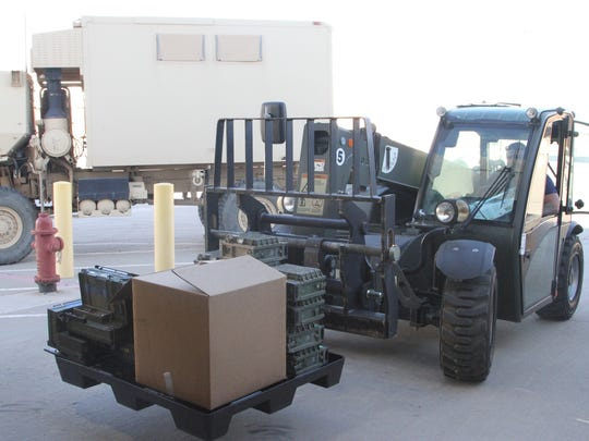 Agencies like the Logistics Readiness Center, the Sierra Army Depot and the Defense Logistics Agency worked together during Divestiture Week at Fort Bliss.