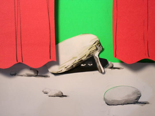 Animation still from Matt Christy, who has a show opening