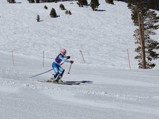 Spanish Springs' Maggie Lee races Tuesday at Mount