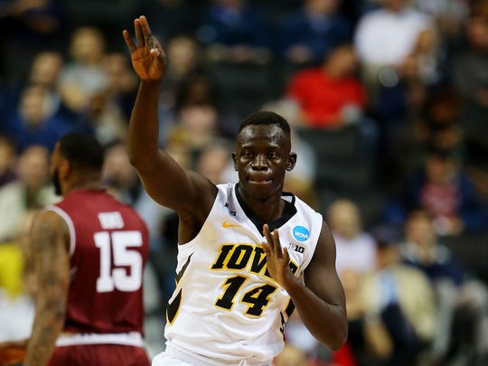 Peter Jok's breakthrough as a junior helped lead Iowa into the Round of 32 in the NCAA Tournament last season.