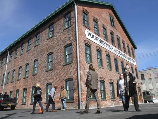 The Poughkeepsie Underwear Factory is pictured in this 2017 file photo.