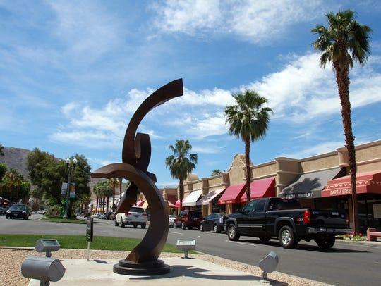 Palm Desert's El Paseo shopping district.