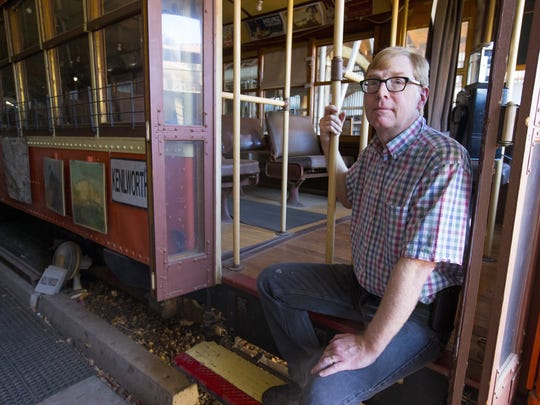 Plans for the city's enhancement of Margaret Hance Park does not include the Phoenix Trolley Museum.  The Phoenix Trolley Museum has to leave their current location on Culver in Phoenix for a new location on Grand Ave. but that is going to cost lots of money. The museum's secretary Bob Graham says he estimates $700,000-one million. Graham says he would like to see a moving museum with a trolley running up and down Grand Ave.