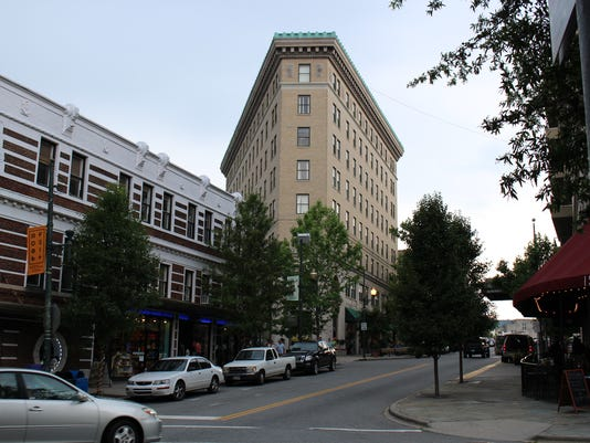 Asheville's historic Flatiron Building up for sale for $16