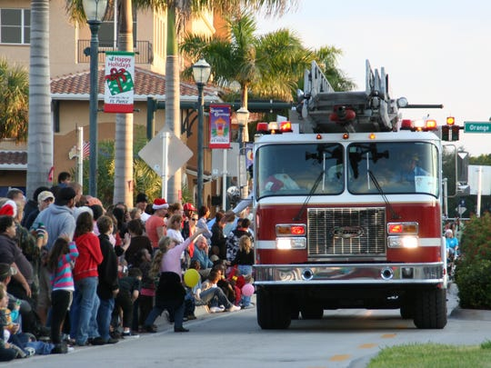 The entire city seems to get involve with the Sights & Sounds on Second parade every year.