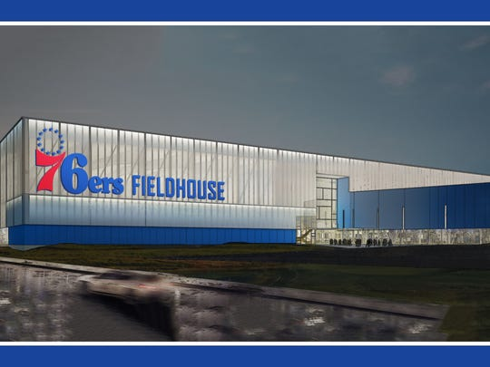 Artist's rendering of planned arena/recreational center to be built in Wilmington.