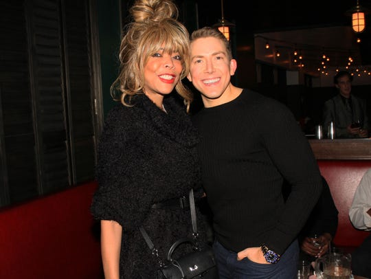 "Wendy Williams with Brian Balthazar at the ""Dinner"