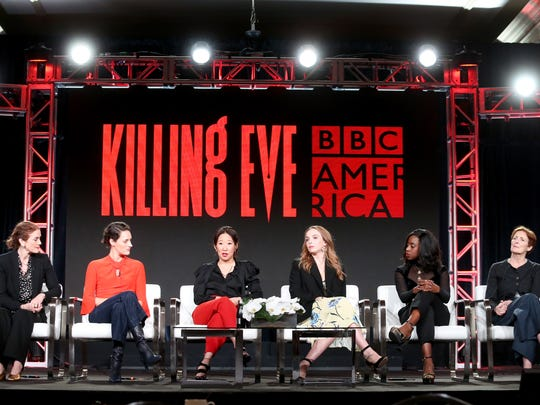 Stars and producers of BBC America's 'Killing Eve' spoke Friday at the Television Critics Association's winter press tour.