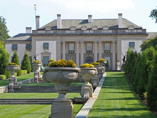 The Nemours Mansion and Gardens were designed to look like Marte Antoinette's Petit Trianon at Versailles in Paris.