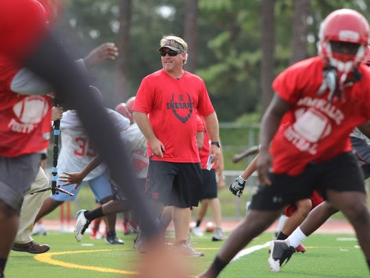 Dale More was the Immokalee head coach for the 2015